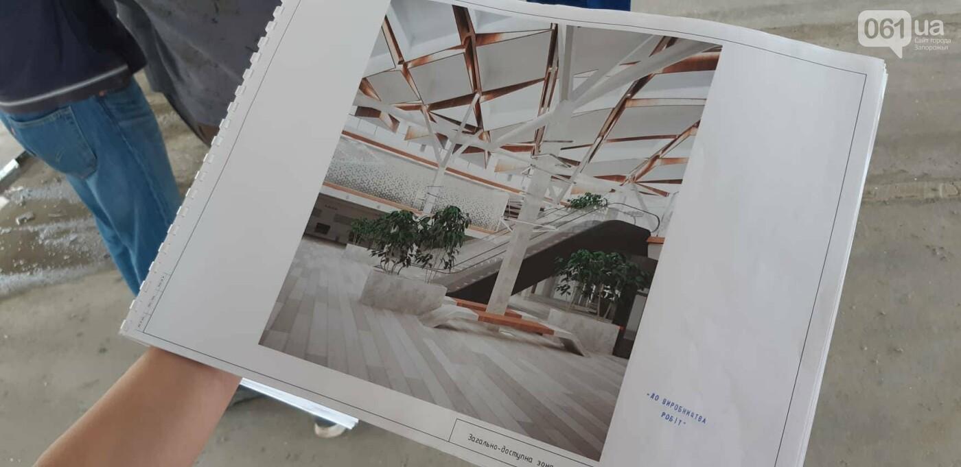 Как идет строительство нового терминала аэропорта Запорожья 22