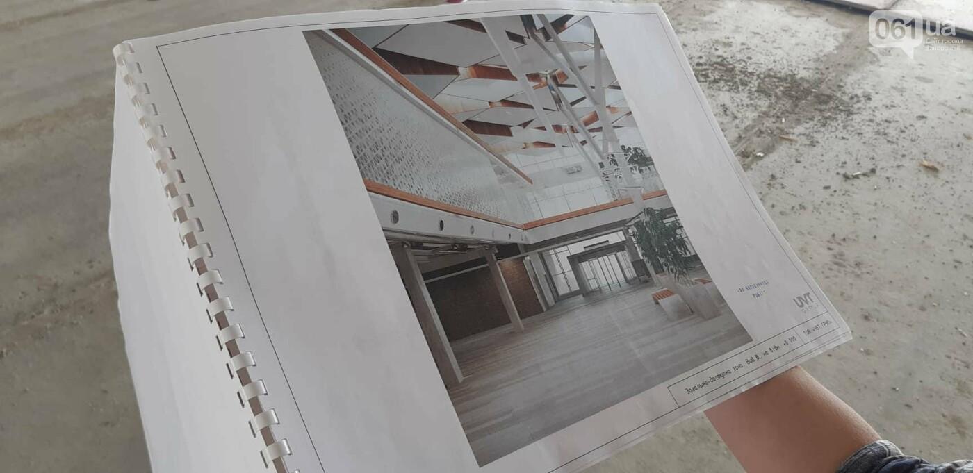 Как идет строительство нового терминала аэропорта Запорожья 21