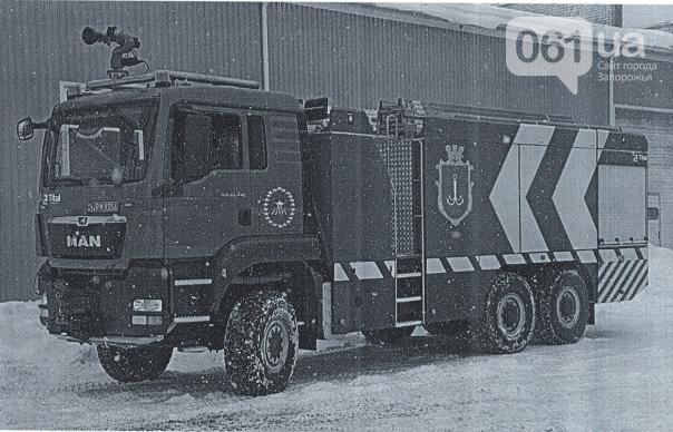 Запорожский аэропорт купил пожарную машину за 12 миллионов, - ФОТО, фото-1