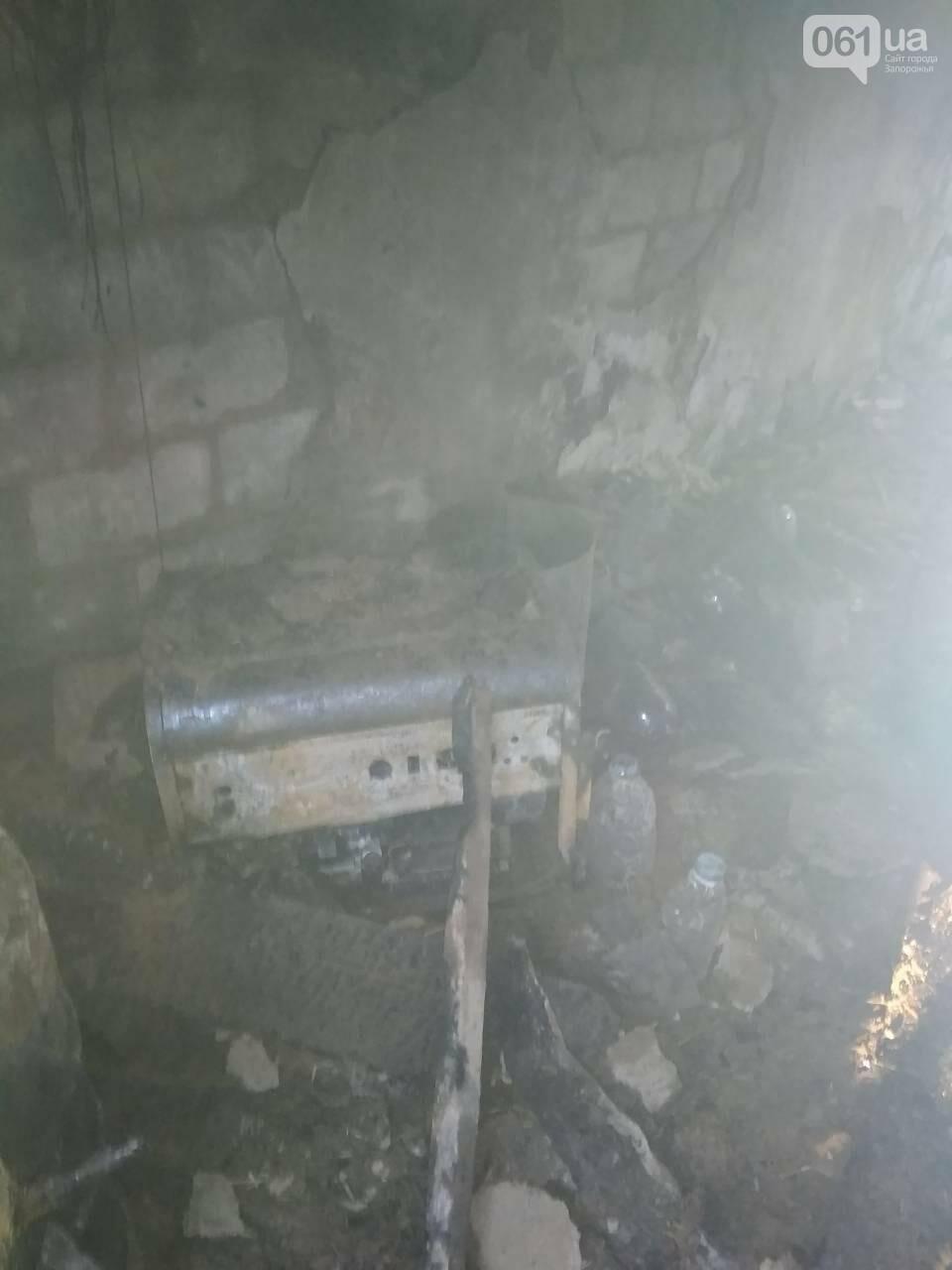 В Запорожской области за день дважды горели гаражи, - ФОТО, фото-1