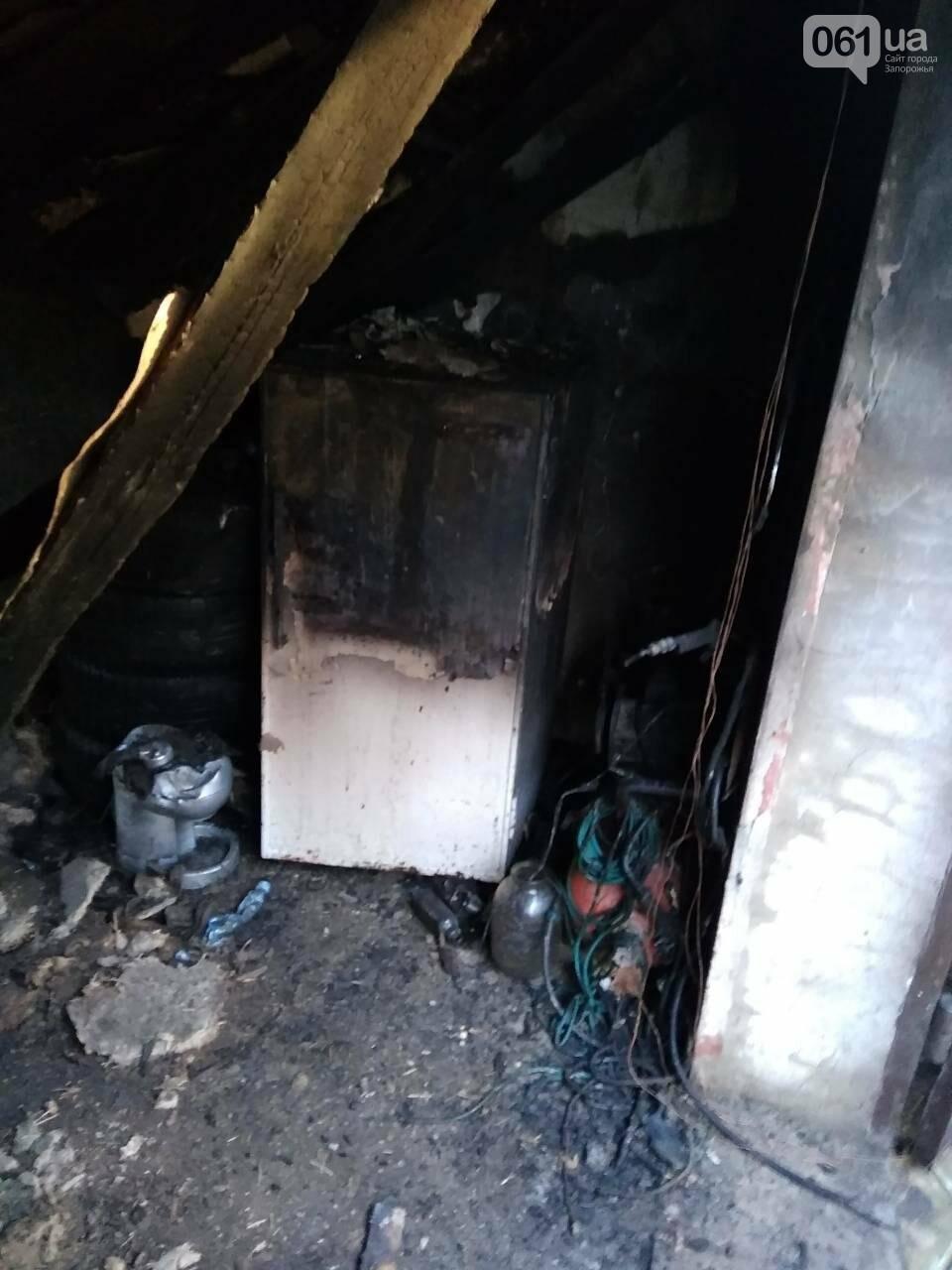 В Запорожской области за день дважды горели гаражи, - ФОТО, фото-3