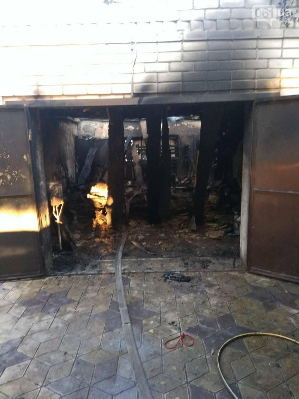 В Запорожской области за день дважды горели гаражи, - ФОТО, фото-2