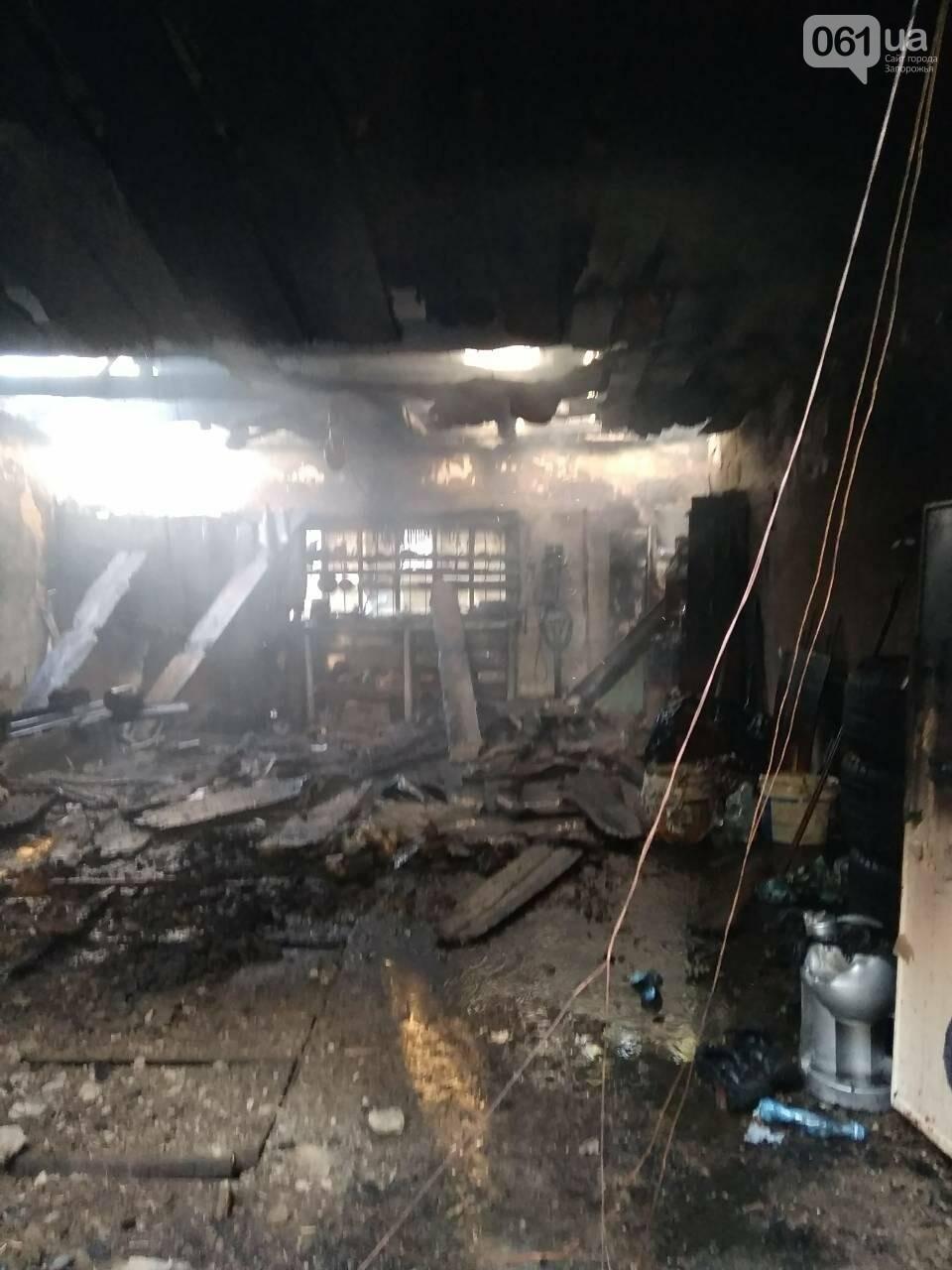 В Запорожской области за день дважды горели гаражи, - ФОТО, фото-4