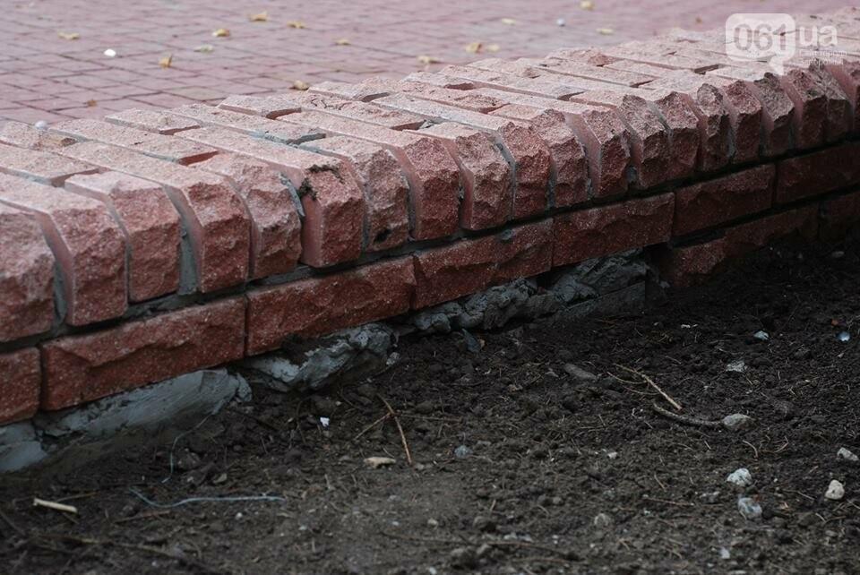 В новом сквере Театральном уже отваливается плитка: горожан приглашают закончить ремонт, – ФОТО, фото-4