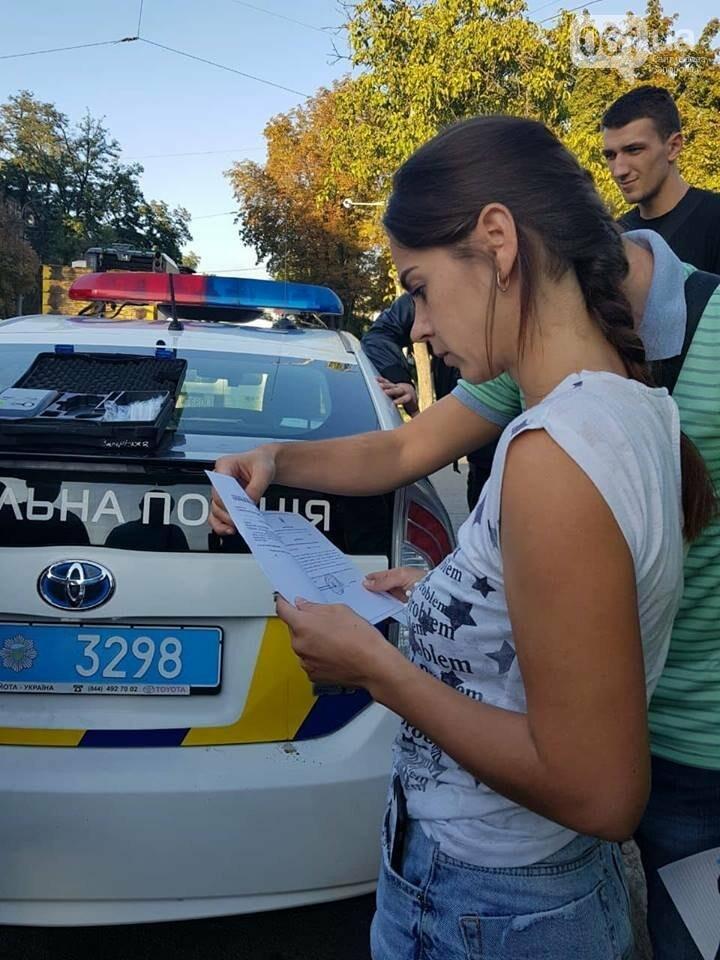 """В центре Запорожья """"евробляха"""" столкнулась с маршруткой: три человека госпитализированы, - ФОТО, фото-2"""