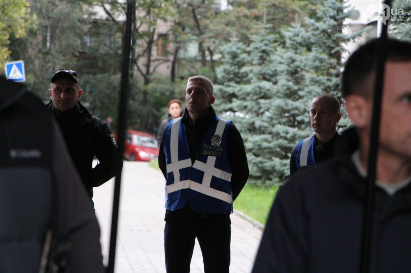 Активисты под прицелом: в Запорожье под зданием Нацполиции митинговали за расследование преступлений, - ФОТОРЕПОРТАЖ, фото-15
