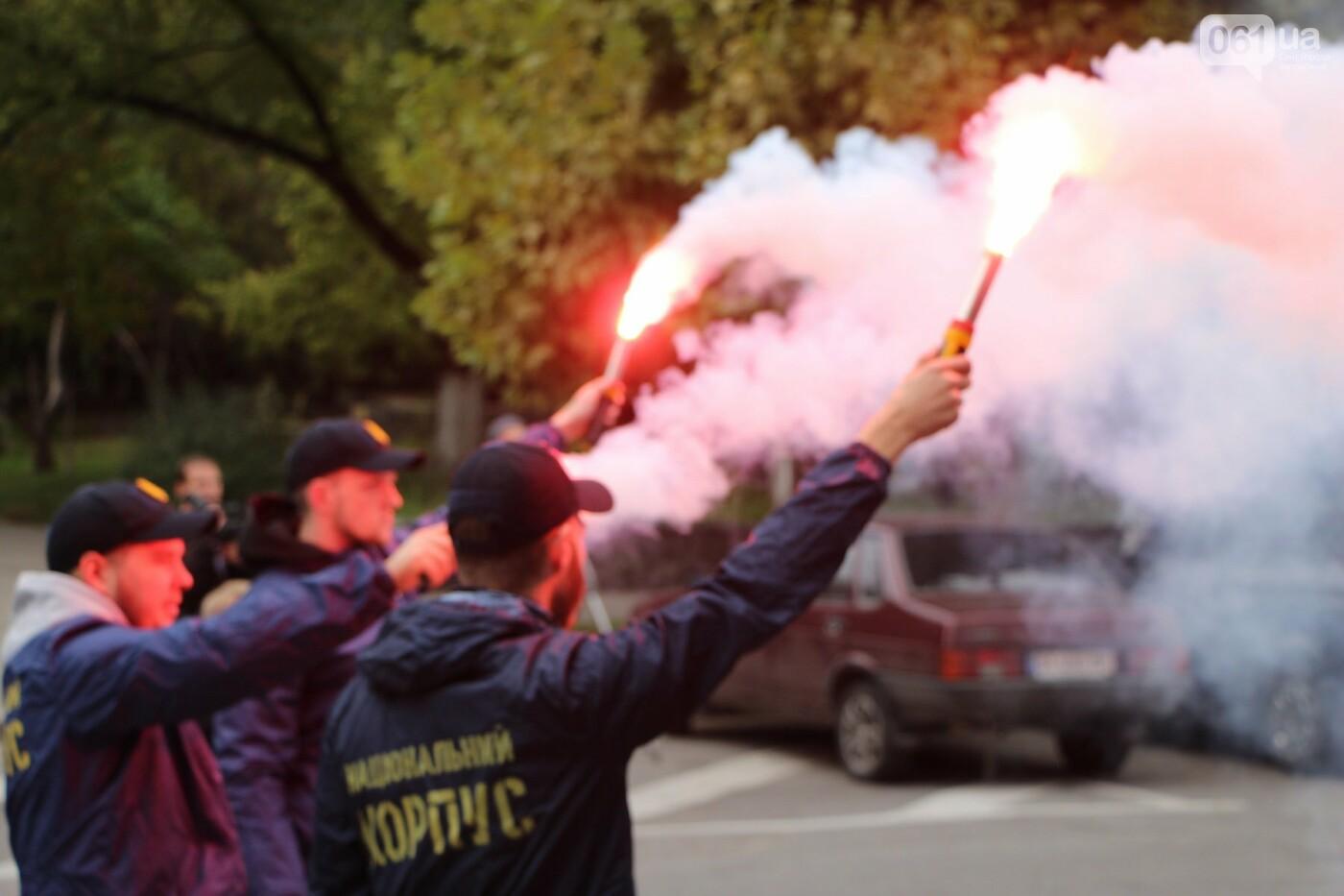 Активисты под прицелом: в Запорожье под зданием Нацполиции митинговали за расследование преступлений, - ФОТОРЕПОРТАЖ, фото-8