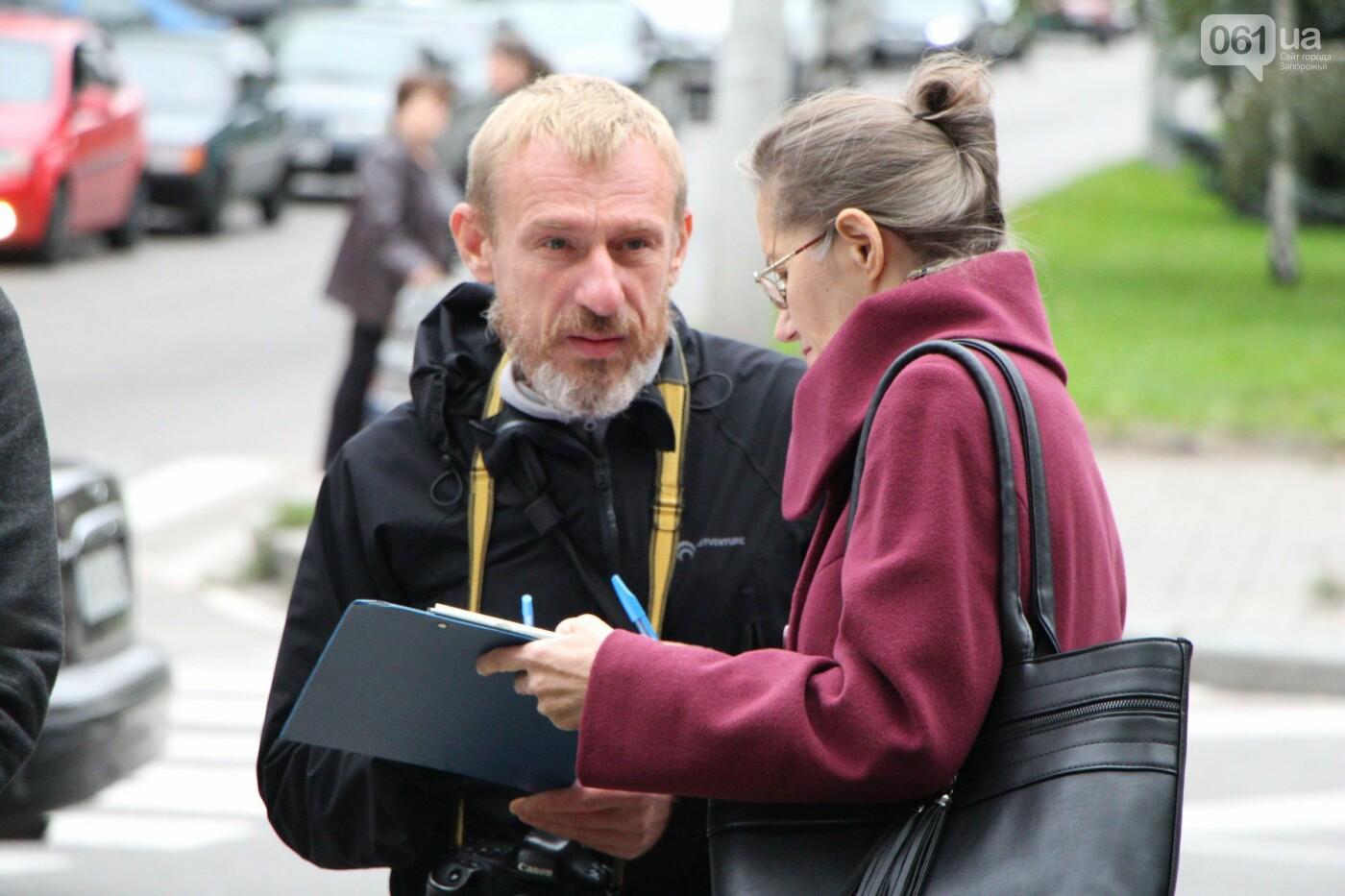 Активисты под прицелом: в Запорожье под зданием Нацполиции митинговали за расследование преступлений, - ФОТОРЕПОРТАЖ, фото-18