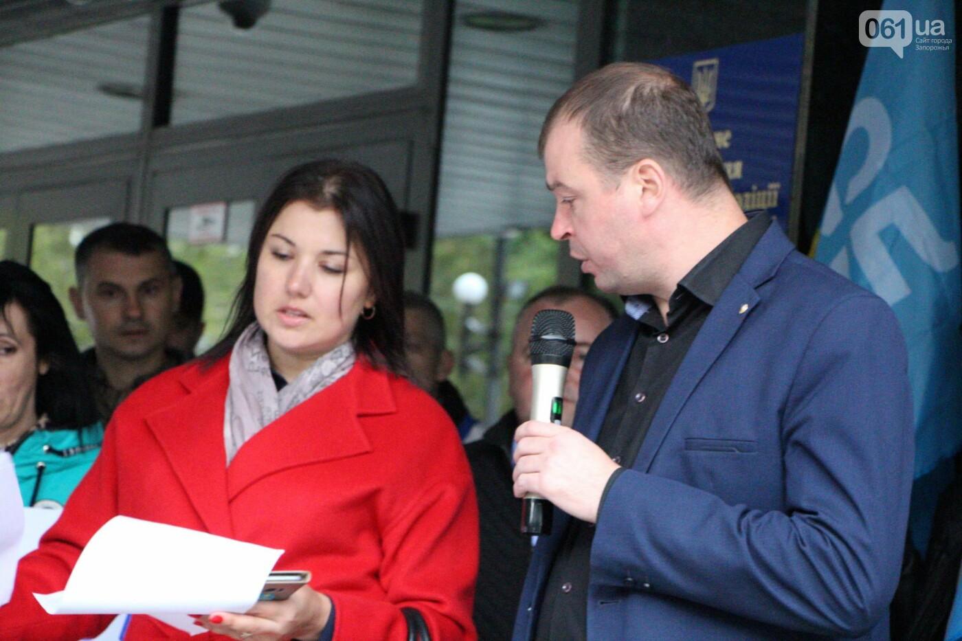 Активисты под прицелом: в Запорожье под зданием Нацполиции митинговали за расследование преступлений, - ФОТОРЕПОРТАЖ, фото-21