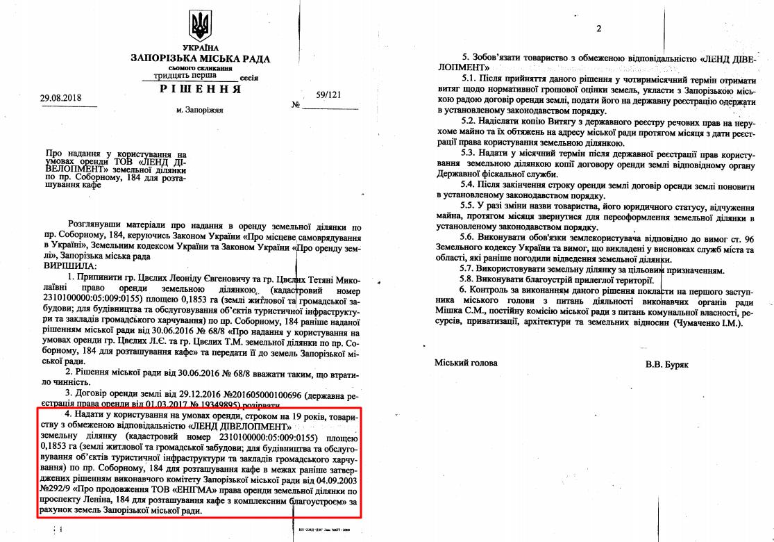 Кальцев получил еще два участка в центре Запорожья рядом со сквером Яланского: что в этом неправильного, фото-2