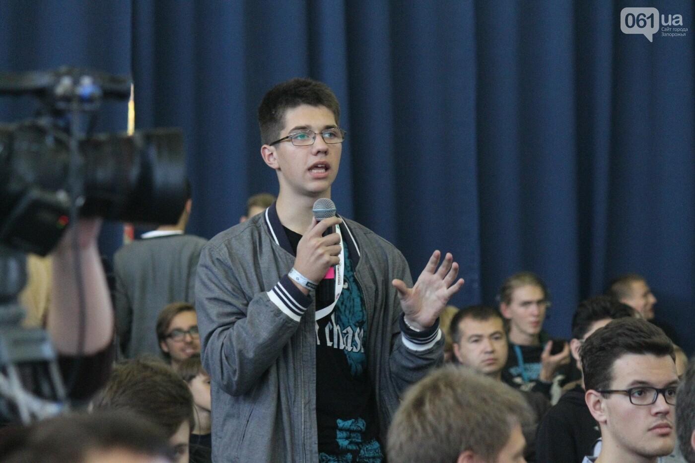 Роботы, киберспорт и спикеры-иностранцы: в Запорожье начался International IT Forum, – ФОТОРЕПОРТАЖ, фото-18