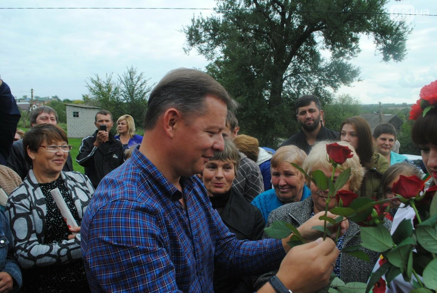 Громаду под Запорожьем неожиданно посетил Олег Ляшко, нардеп встретился с людьми, - ФОТОРЕПОРТАЖ, фото-8