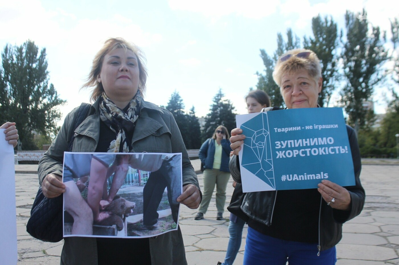 «Защити! Не мучай»: в Запорожье провели марш за права животных, – ФОТОРЕПОРТАЖ, ВИДЕО, фото-6
