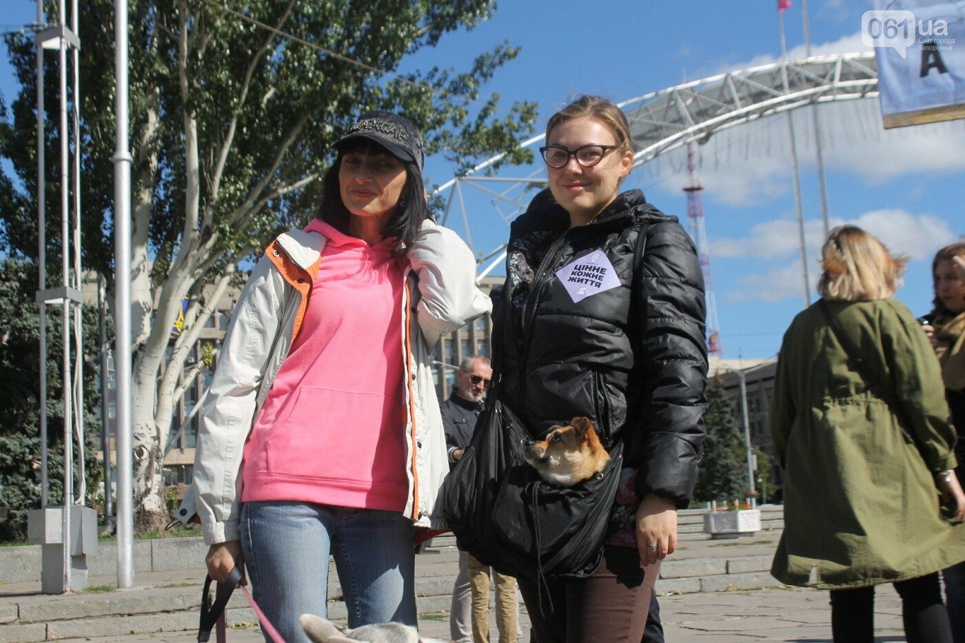«Защити! Не мучай»: в Запорожье провели марш за права животных, – ФОТОРЕПОРТАЖ, ВИДЕО, фото-17