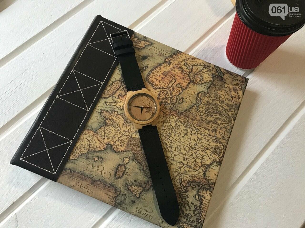 Лучший подарок! Наручные часы из 100% натурального дерева, фото-1