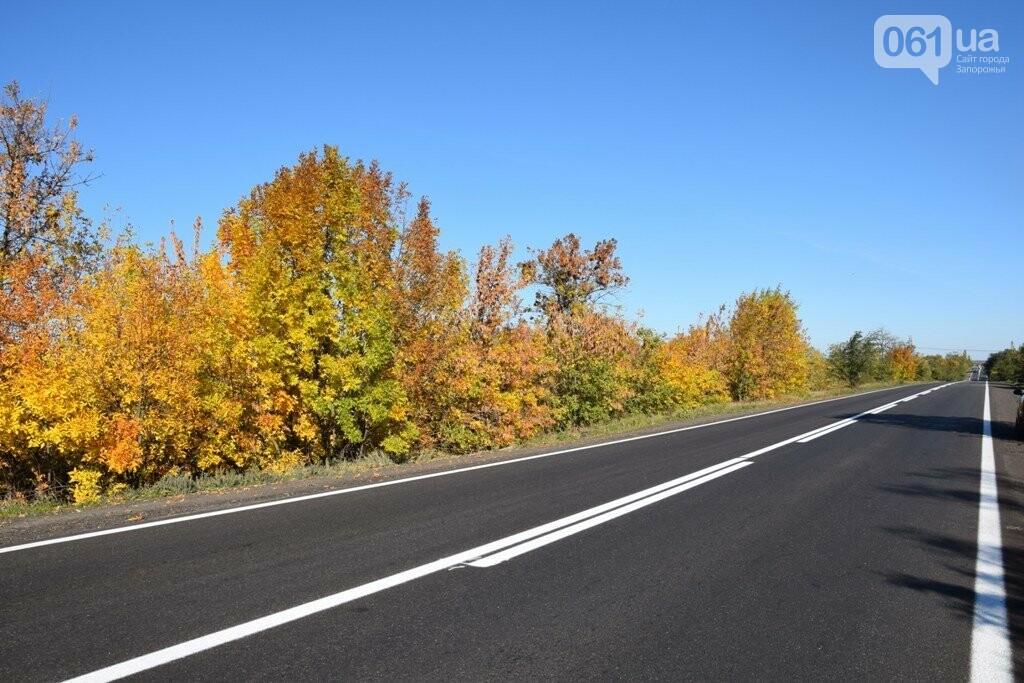 Как выглядит отремонтированный участок дороги на трассе Запорожье – Мариуполь, – ФОТО, ВИДЕО, фото-1
