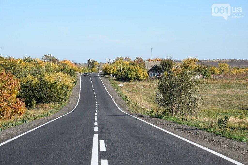 Как выглядит отремонтированный участок дороги на трассе Запорожье – Мариуполь, – ФОТО, ВИДЕО, фото-3