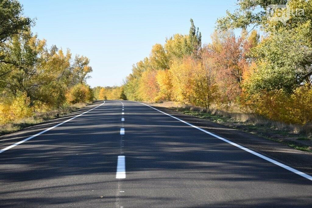 Как выглядит отремонтированный участок дороги на трассе Запорожье – Мариуполь, – ФОТО, ВИДЕО, фото-4