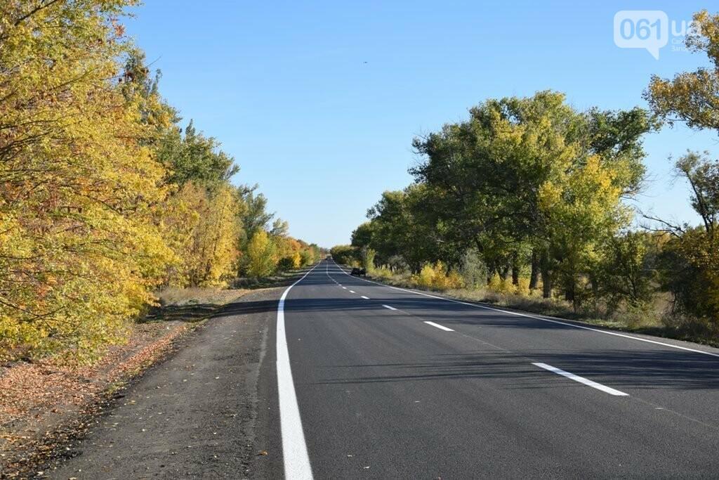 Как выглядит отремонтированный участок дороги на трассе Запорожье – Мариуполь, – ФОТО, ВИДЕО, фото-5