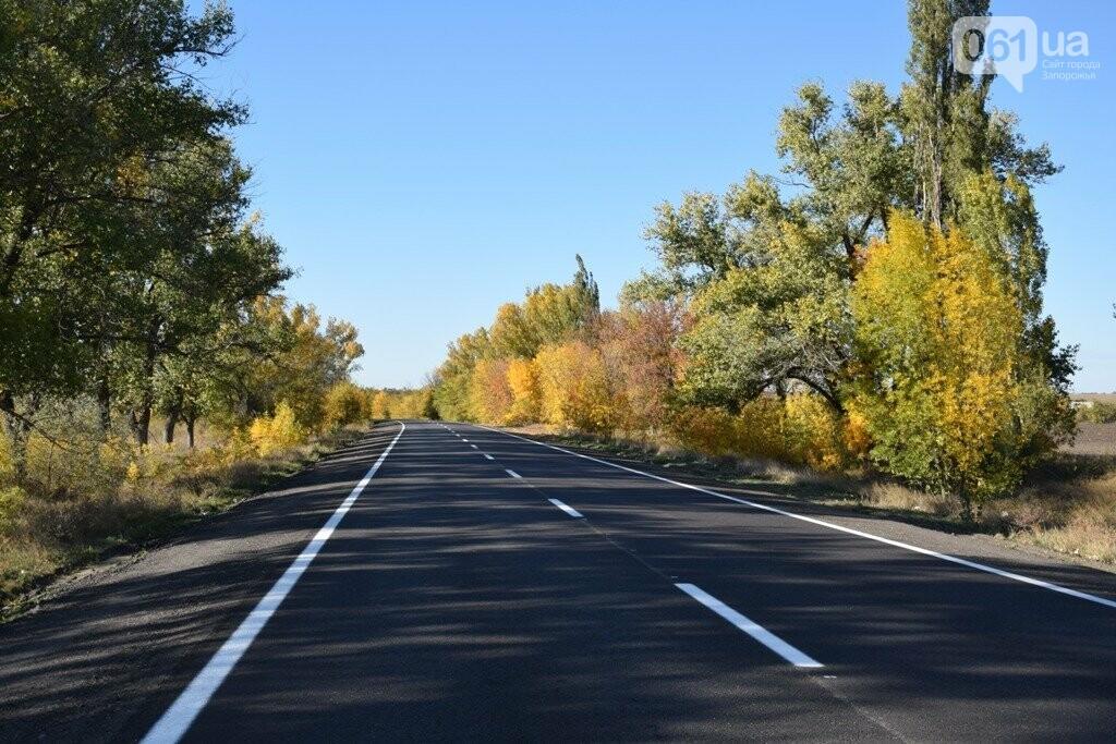 Как выглядит отремонтированный участок дороги на трассе Запорожье – Мариуполь, – ФОТО, ВИДЕО, фото-6