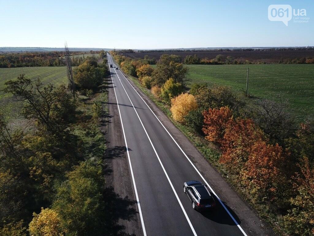Как выглядит отремонтированный участок дороги на трассе Запорожье – Мариуполь, – ФОТО, ВИДЕО, фото-7