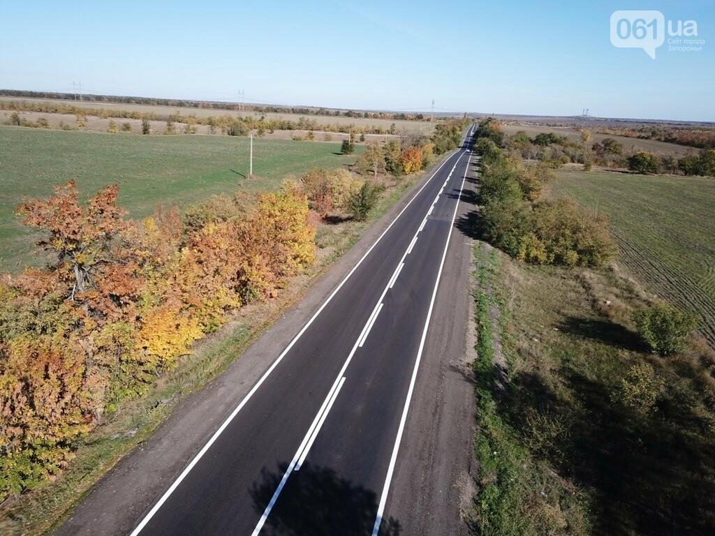 Как выглядит отремонтированный участок дороги на трассе Запорожье – Мариуполь, – ФОТО, ВИДЕО, фото-9