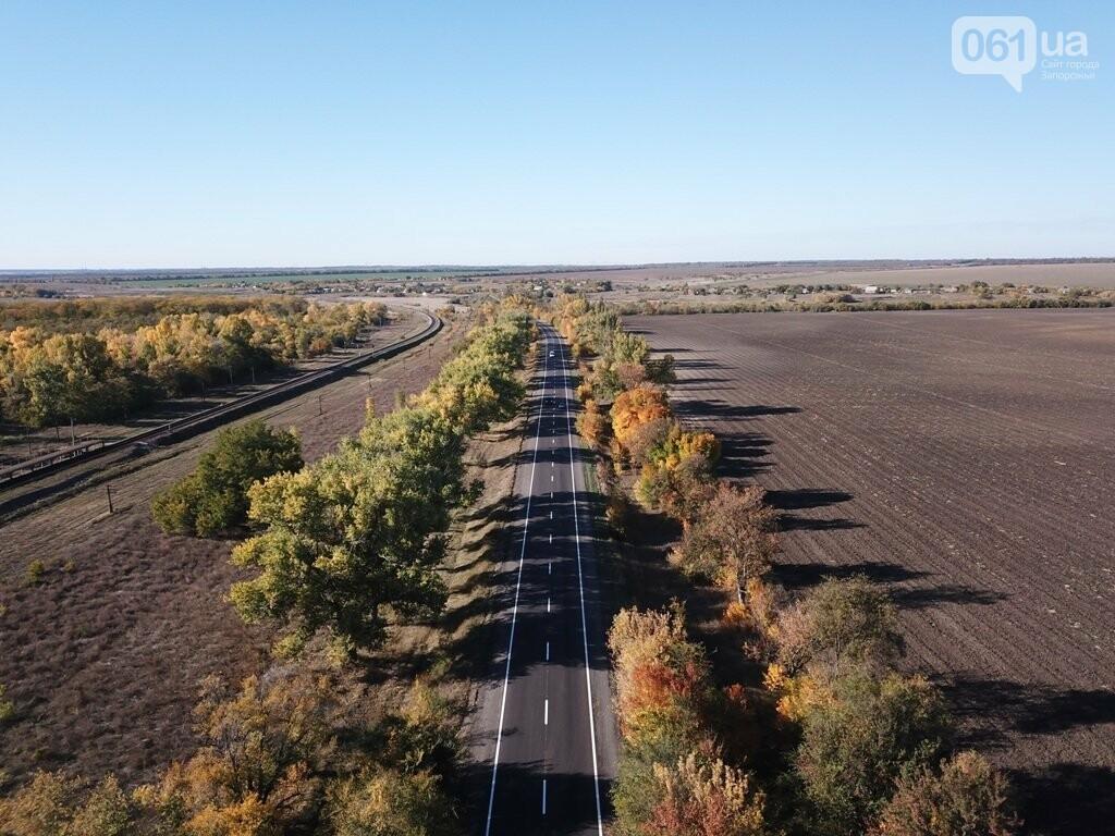 Как выглядит отремонтированный участок дороги на трассе Запорожье – Мариуполь, – ФОТО, ВИДЕО, фото-8