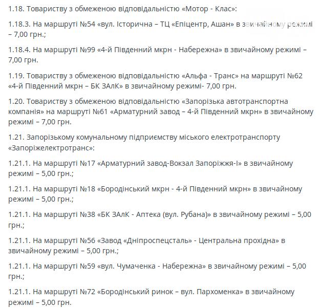 В Запорожье повысили стоимость проезда: маршрутки – на 2 гривны, автобусы – на гривну, фото-2