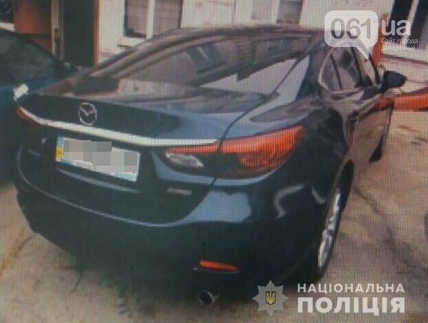 В Запорожье угнали «Porsche Cayenne», «Mazda 6» и «Peugeot» - авто нашли за пределами области , фото-1