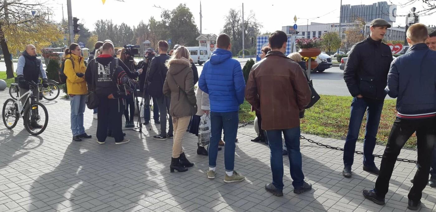 Запорожцы вышли на протест против повышения тарифов на проезд, - ФОТОРЕПОРТАЖ, фото-6