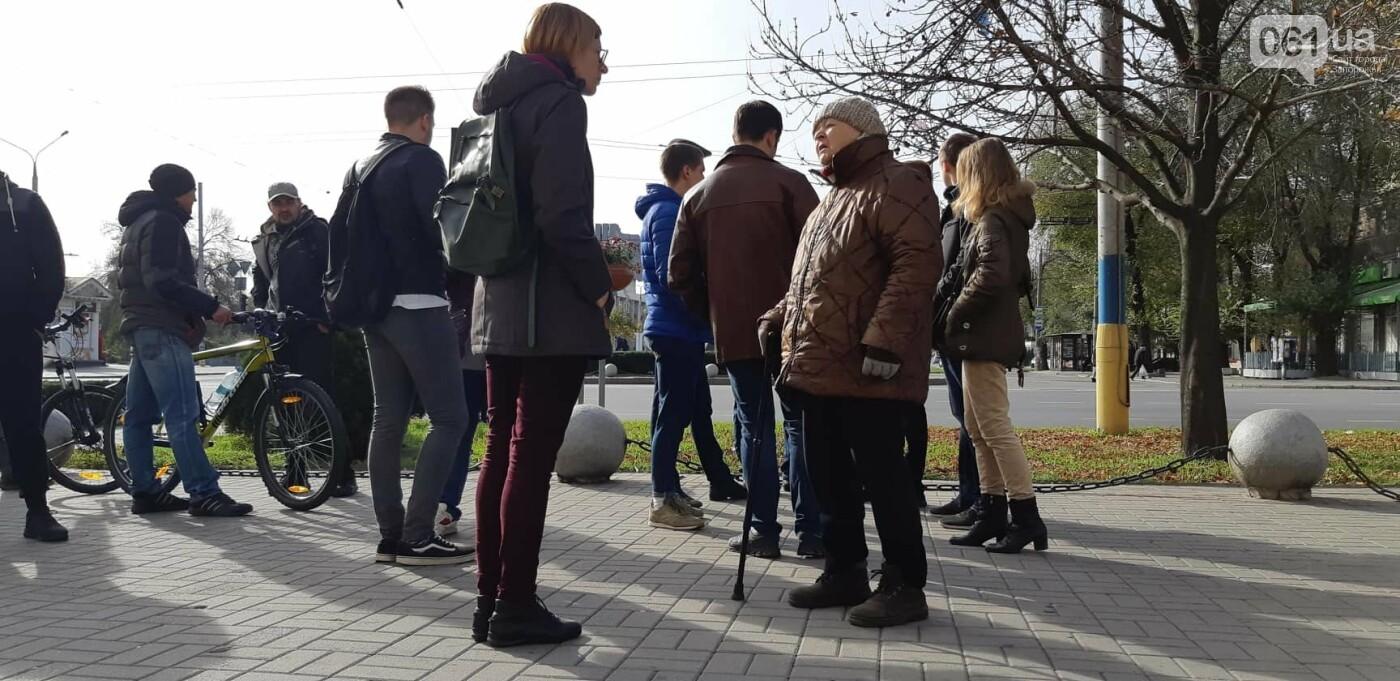 Запорожцы вышли на протест против повышения тарифов на проезд, - ФОТОРЕПОРТАЖ, фото-4