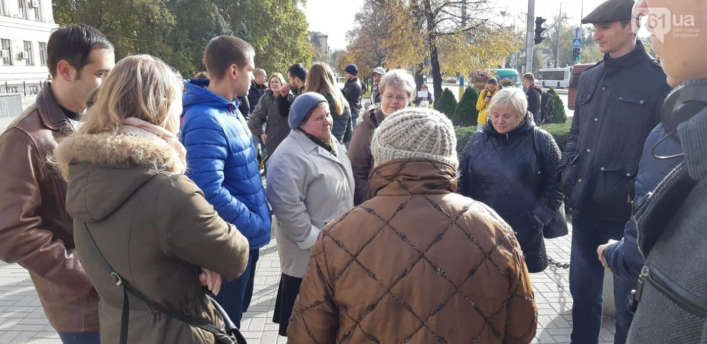 Запорожцы вышли на протест против повышения тарифов на проезд, - ФОТОРЕПОРТАЖ, фото-3