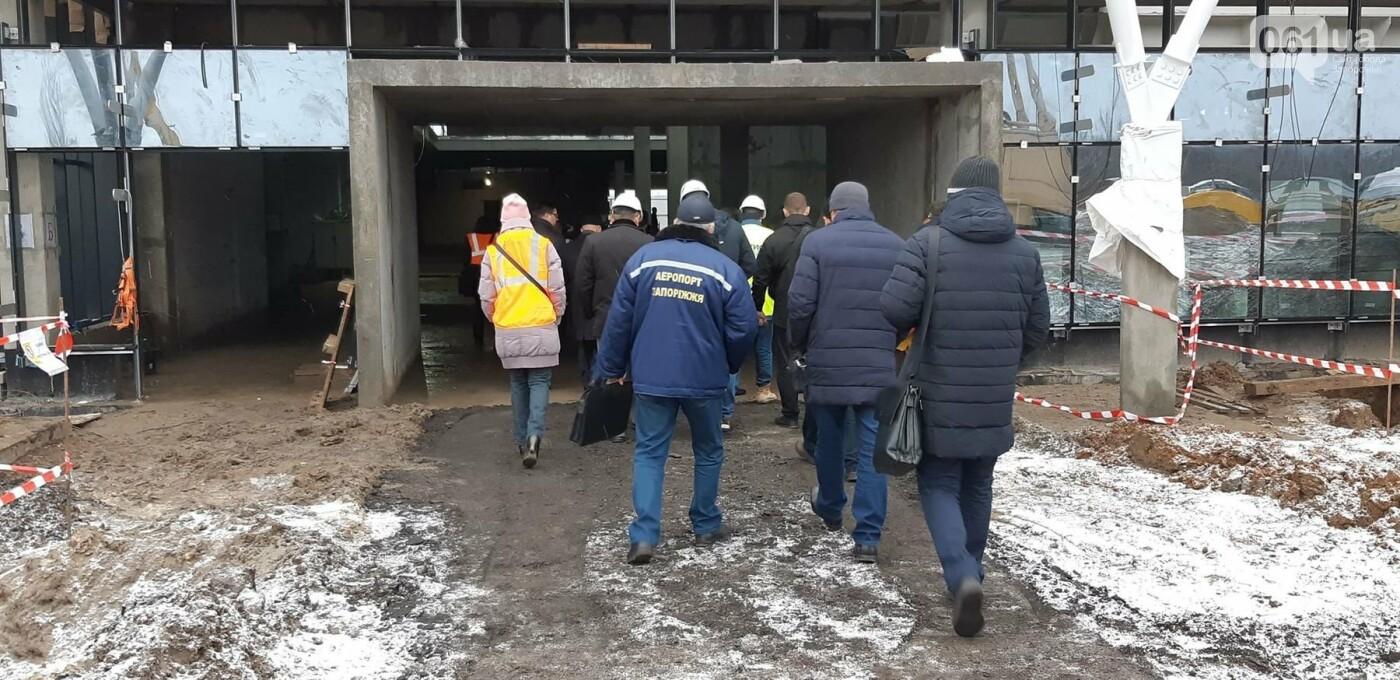 Запорожский аэропорт возьмет кредит на строительство терминала и прогнозирует увеличение пассажиропотока до одного миллиона, — ФОТОРЕПОРТАЖ, фото-5