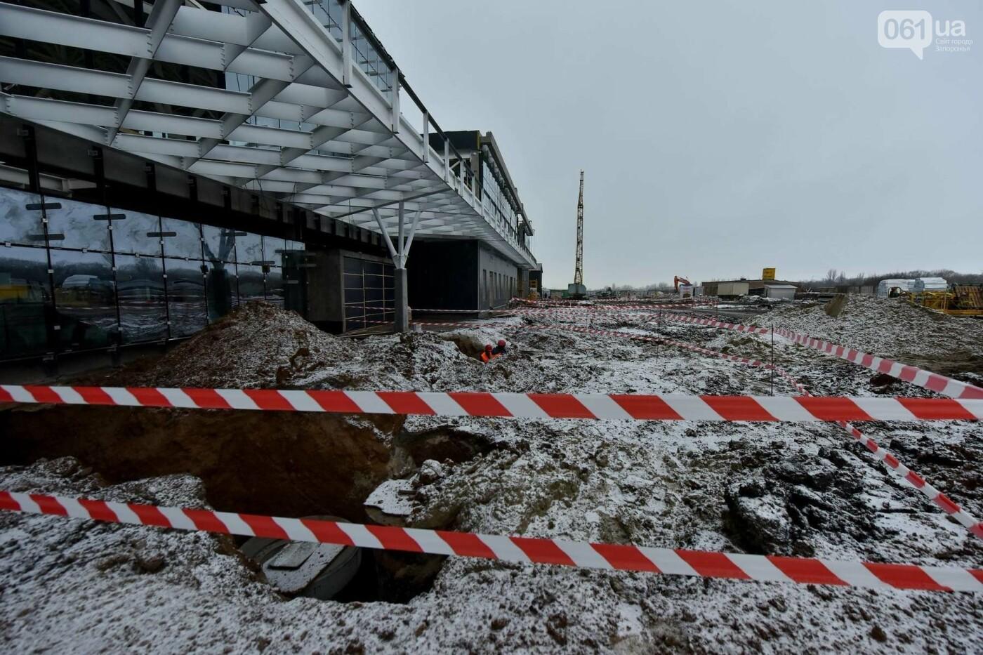 Запорожский аэропорт возьмет кредит на строительство терминала и прогнозирует увеличение пассажиропотока до одного миллиона, — ФОТОРЕПОРТАЖ, фото-7
