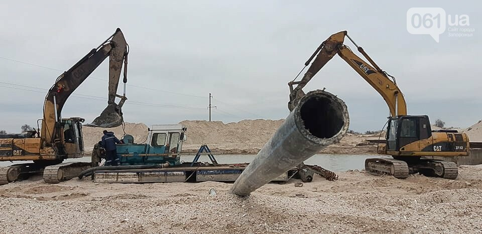 Реконструкция промоины на Молочном лимане: канал расширили на 40 метров, на объекте работает земснаряд, - ФОТОРЕПОРТАЖ, фото-5