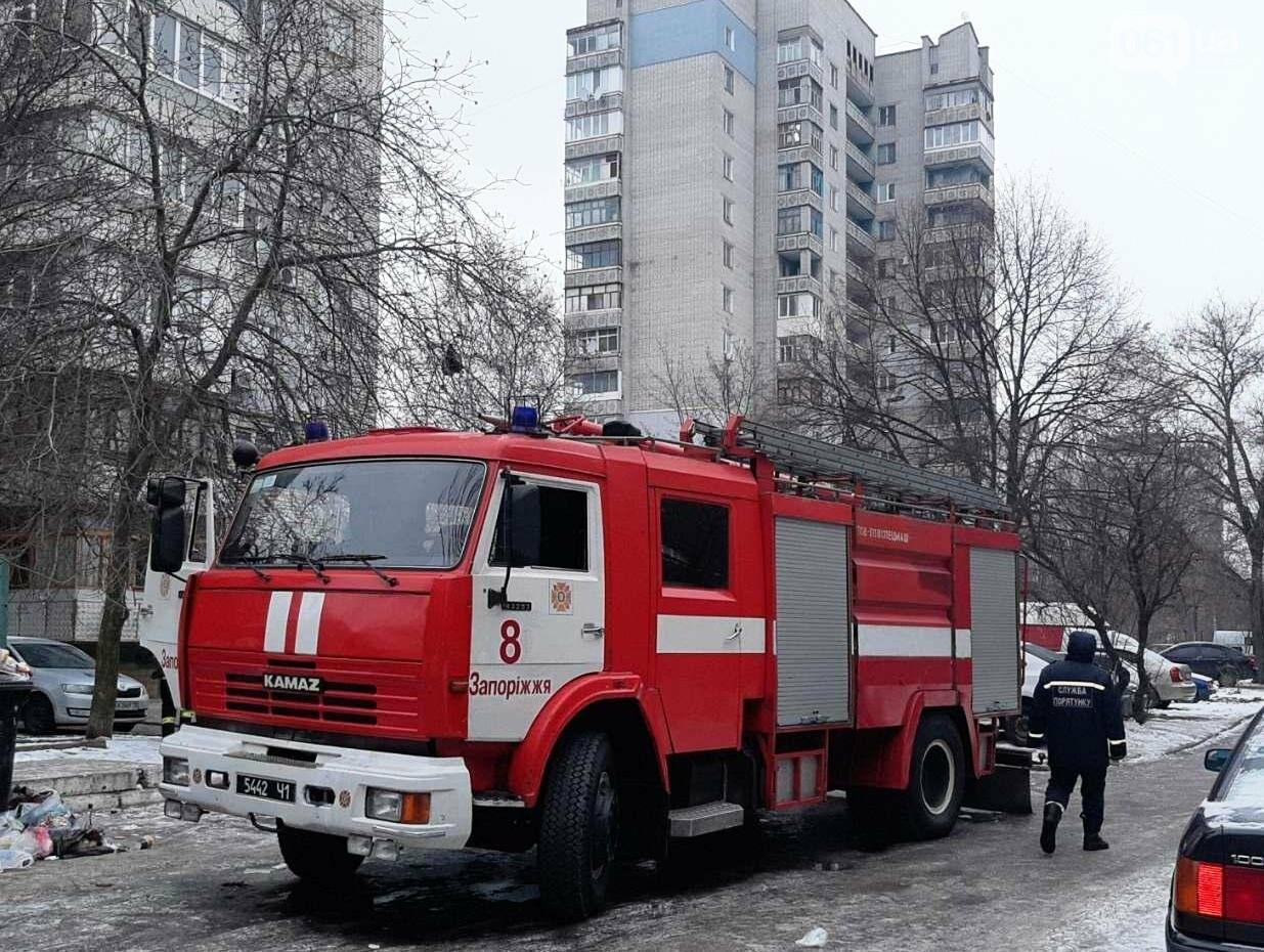 В Запорожье на пожаре погибло два человека, - ФОТО, фото-1
