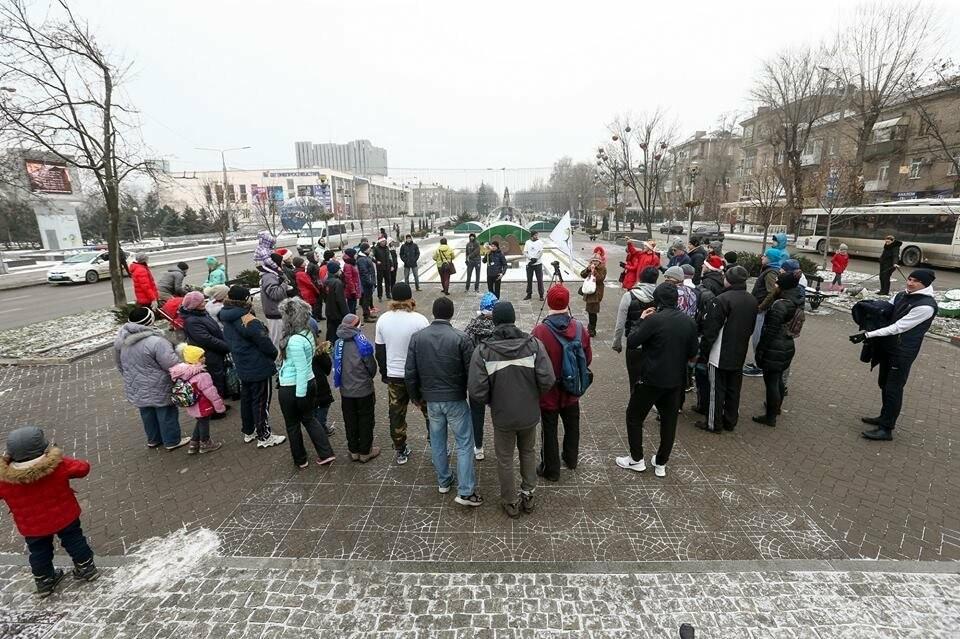 """Около 50 запорожцев приняли участие в """"трезвой пробежке"""", - ФОТОРЕПОРТАЖ, фото-3"""