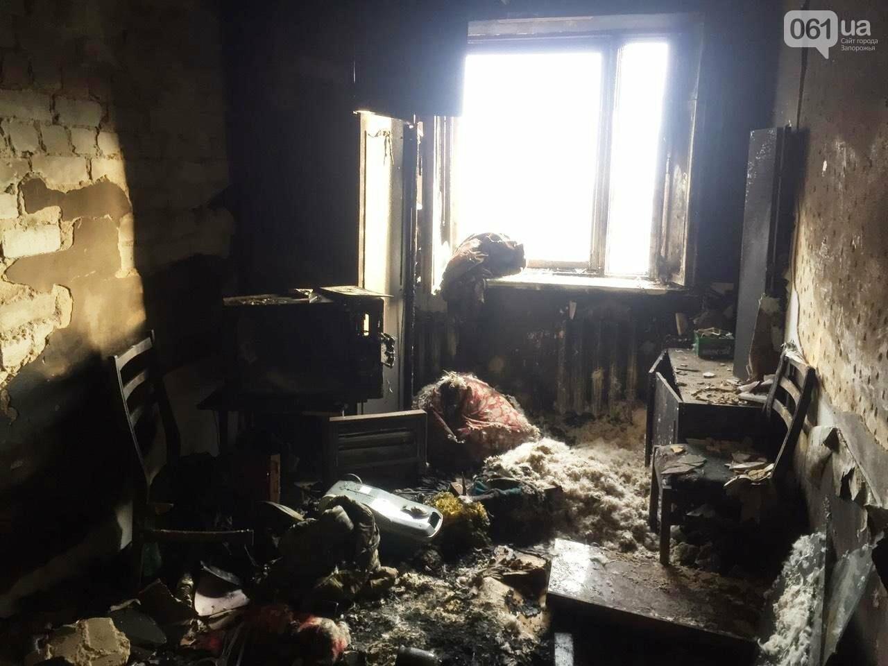 В Запорожье на пожаре погибло два человека, - ФОТО, фото-3