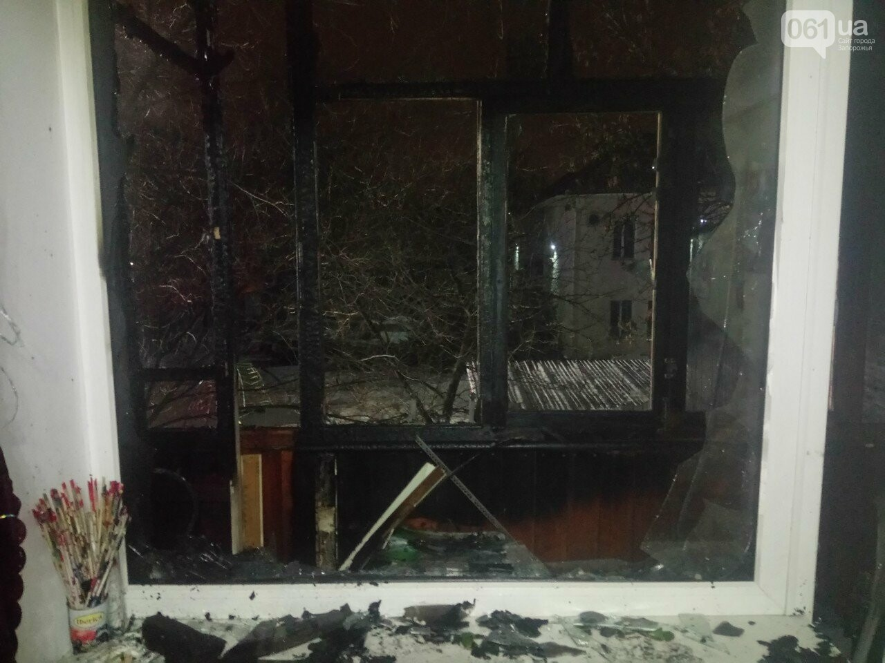 В Запорожье из-за петарды сгорела квартира, - ФОТО , фото-3