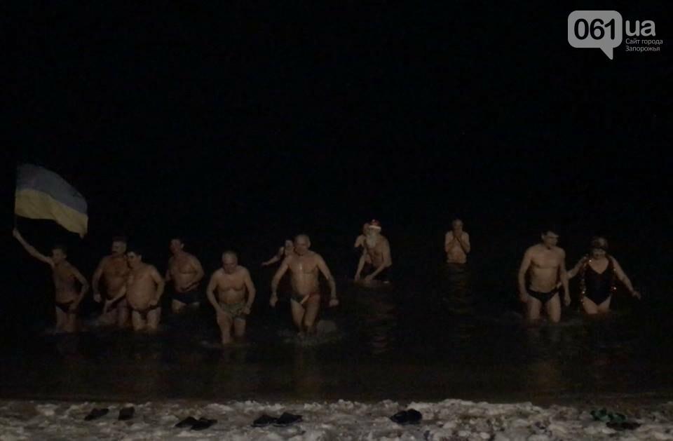 """Бердянские """"моржи"""" отметили Новый год в море, - ФОТО, фото-1"""