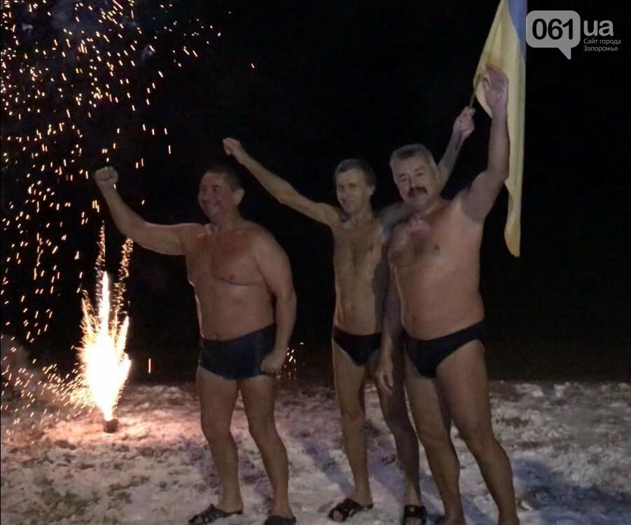 """Бердянские """"моржи"""" отметили Новый год в море, - ФОТО, фото-3"""