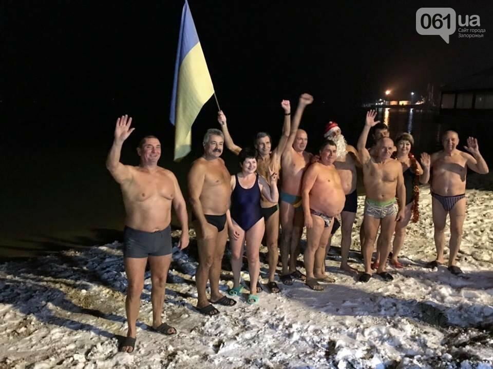 """Бердянские """"моржи"""" отметили Новый год в море, - ФОТО, фото-2"""