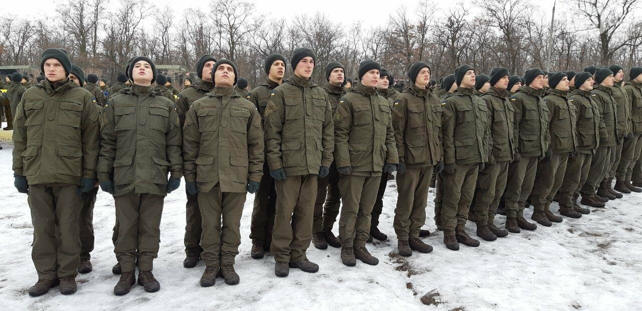 Запорожские военные провели на Хортице флешмоб в поддержку украинских моряков, - ФОТО, ВИДЕО, фото-10