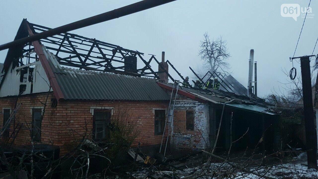 Растопил печь и уснул: житель Запорожской области едва не остался без дома из-за тлеющих паллет, - ФОТО , фото-2