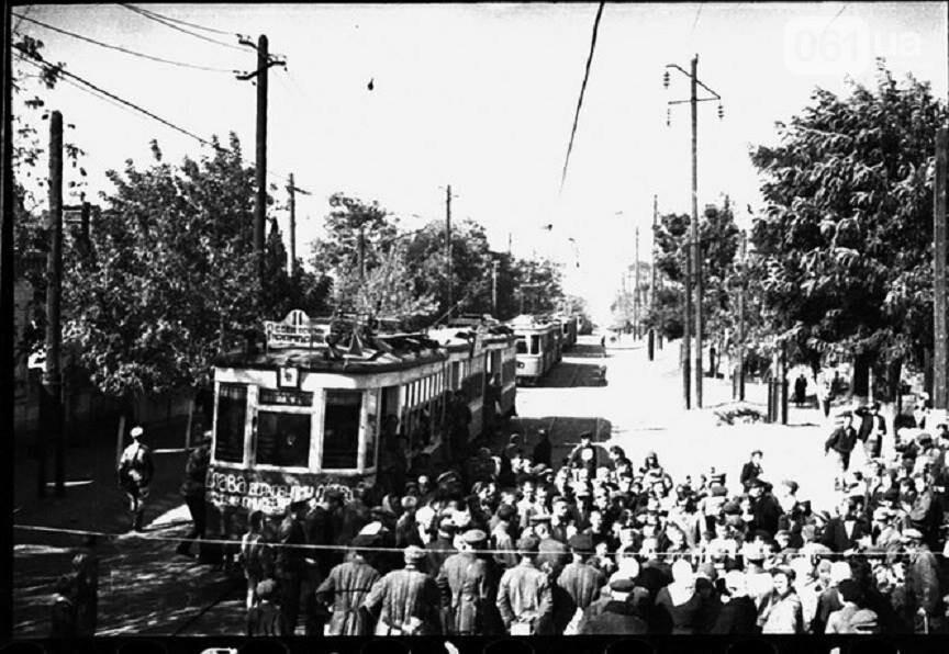В сети показали, как выглядел пуск трамвая 70 лет назад, - ФОТО, фото-1