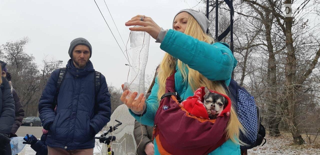 Запорожцы вышли на первую в этом году традиционную подкормку птиц на Хортице, - ФОТОРЕПОРТАЖ, фото-2