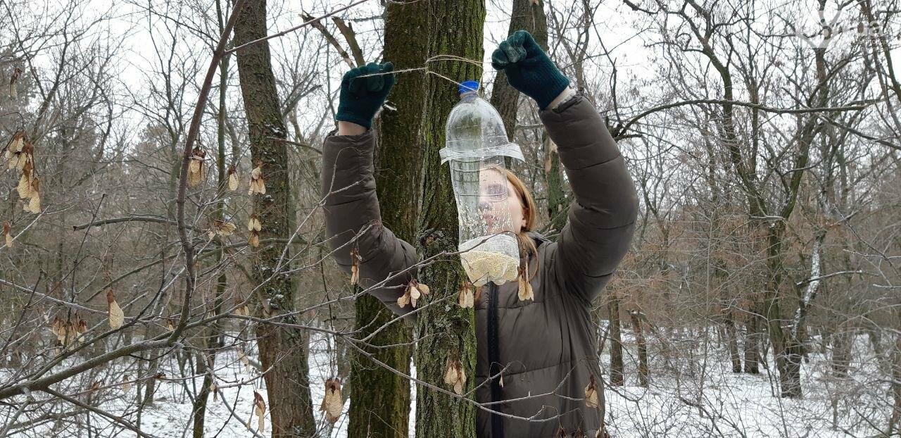 Запорожцы вышли на первую в этом году традиционную подкормку птиц на Хортице, - ФОТОРЕПОРТАЖ, фото-18