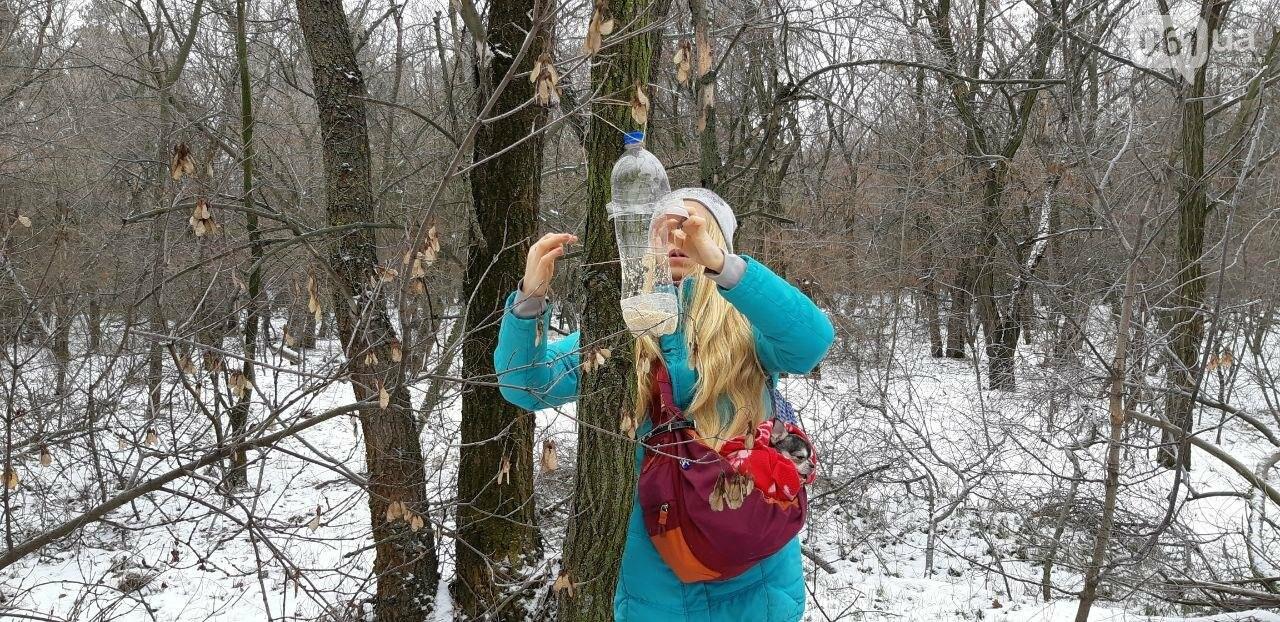 Запорожцы вышли на первую в этом году традиционную подкормку птиц на Хортице, - ФОТОРЕПОРТАЖ, фото-14