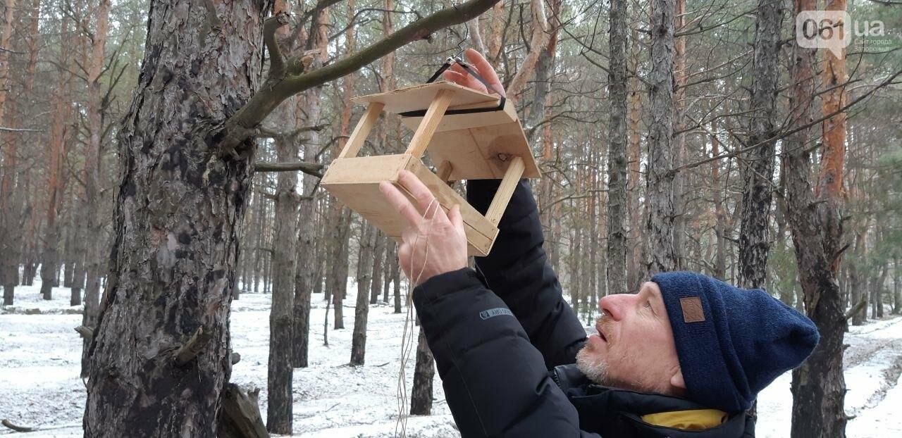 Запорожцы вышли на первую в этом году традиционную подкормку птиц на Хортице, - ФОТОРЕПОРТАЖ, фото-8