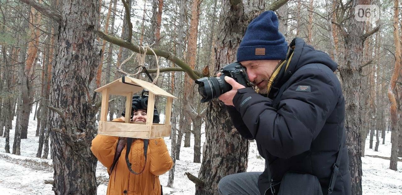Запорожцы вышли на первую в этом году традиционную подкормку птиц на Хортице, - ФОТОРЕПОРТАЖ, фото-20